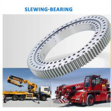 Slewing ring for crane and hard bearing and mechanical bearing