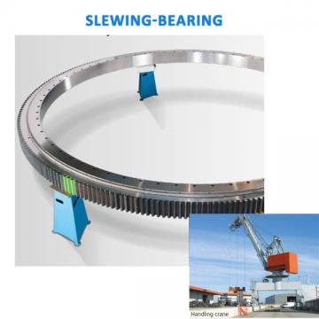 external ring gear turntable bearing no tooth boom lift slewing bearing
