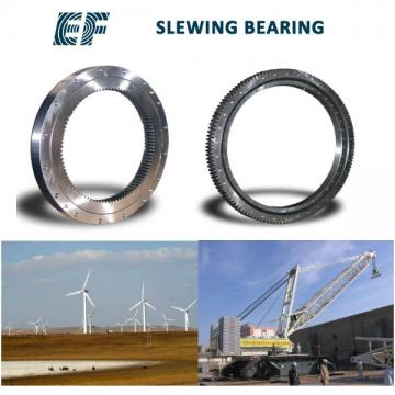 Mechanical Turntable Super Precision Spindle Bearing Excavator Crane Trailer Thin Section Gearless Slewing Ring Bearing YRT200