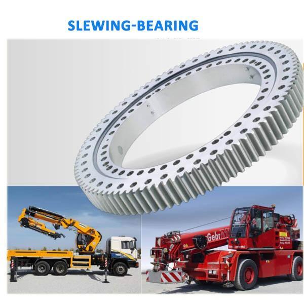 alibaba china supplier slewing ring for Komatsu PC60-6 PC75 excavator, excavator swing bearing for Komatsu #2 image