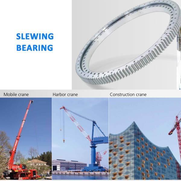 Excavator PC400-6 swing circle assy, P/N 208-25-61100 , PC400LC-6 slewing ring bearing #1 image