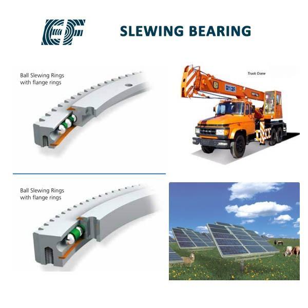 Excavator PC400-6 swing circle assy, P/N 208-25-61100 , PC400LC-6 slewing ring bearing #2 image